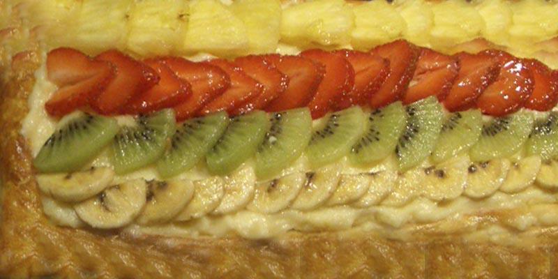 Receta Banda de Frutas